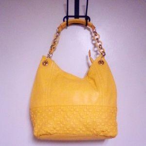 Big Buddha leather shoulder bag. Lightly used